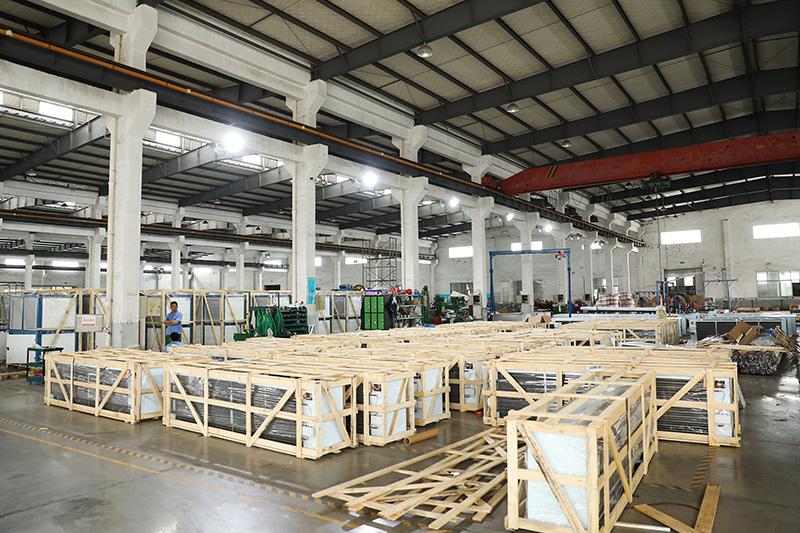 生产车间-机组装配区域